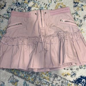 Super cute pale pink size small skirt!